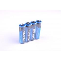 Батарейки R6 TOCEBA 4 шт. в спайке (60)(1200)