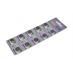 Батарейки для часов дешовые G13 LR44(10)(T&E)