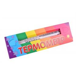 Термометр красный в картоне малый ТО-6  (150)