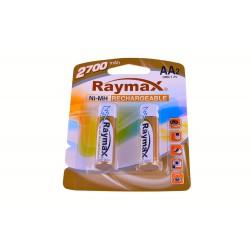 Аккамуляторы Raymax R6 2700 за 1шт. (24)