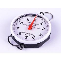 Кантер (весы) круглый Россия 10 кг №1523 (300)