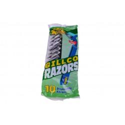 Станок одноразовый 2 лезвия GILLCO RAZORS 10 шт (60)