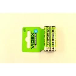 Батарейки LR03 VIDEX (60)(720)