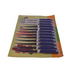 Нож TRAMONTINA 2 сорт ПИЛОЧКА  (12штна листе) (50)