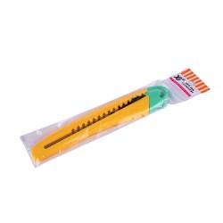 Нож канцелярский маленький №728 (48)(1152)
