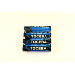 Батарейки R03 TOCEBA 4 шт. в спайке (60)